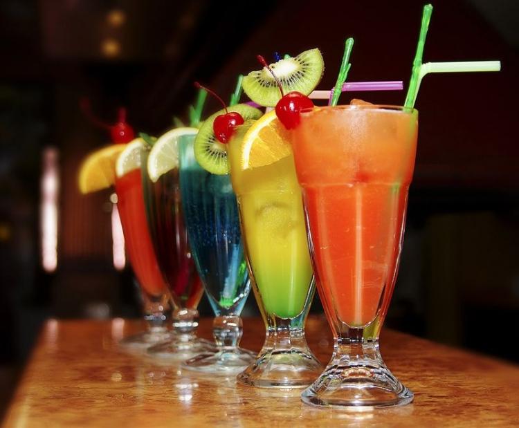 фото коктейли алкогольные
